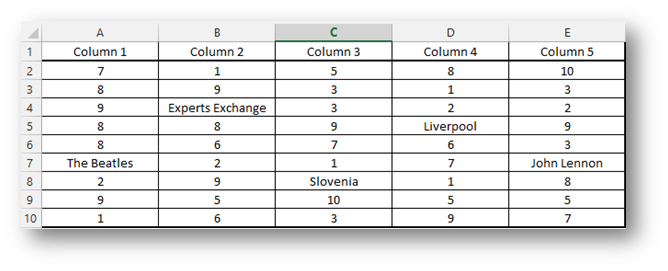Dynamic ranges in Excel