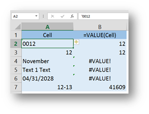 Convert Text to Numbers in Excel