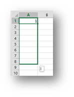 Factor Growing Series in Excel