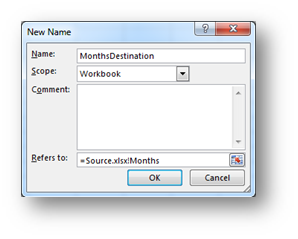 Creating a Data Validation dropdown list from another Workbook
